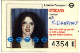 Travel Card 1988